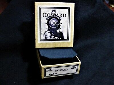 HOWARD  , Pocket Watch Collection/Shipping Box , 16 size