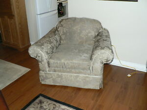 3 person sofa and chair