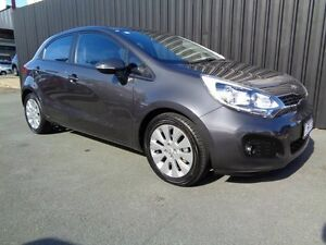 2012 Kia Rio UB MY13 SI Grey 6 Speed Manual Hatchback Chifley Woden Valley Preview