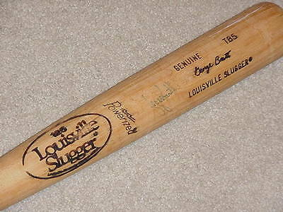 6b4681c8486 George Brett H B Signed Game Bat Kansas City Royals HOF