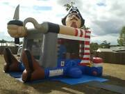 Pirate Combo Jumping Castle Hire Brisbane Browns Plains Logan Area Preview