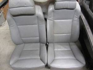 Bmw E60 Grey Leather Sport Comfort Seats 530i 545i 550i M5