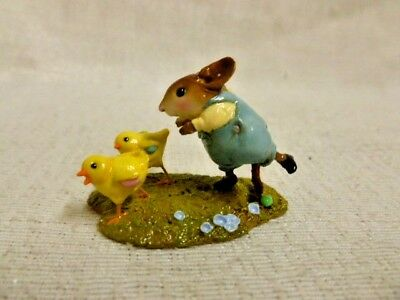 Wee Forest Folk Egg Scramble Special Edition M-387 Mouse Easter Retired
