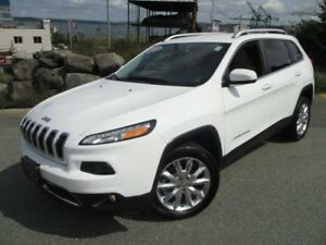 2017 JEEP CHEROKEE Limited V6 FRONT-DRIVE (SAFETY TECH PACKAGE,
