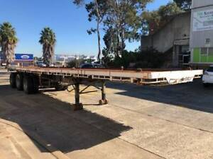 Unbranded Flatdeck Triaxle Trailer Milperra Bankstown Area Preview