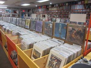 EDMONTON'S LARGEST VINTAGE & NEW VINYL RECORD STORE LPs 45s 78s