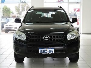 2008 Toyota RAV4 ACA33R CV (4x4) Black 4 Speed Automatic Wagon Morley Bayswater Area Preview