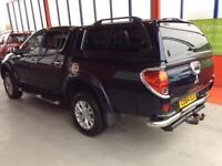 2014 MITSUBISHI L200 DI-D 176 4X4 BARBARIAN LB DOUBLE CAB WITH TRUCKMAN TOP PICK