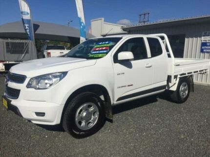 2013 Holden Colorado RG LX (4x4) White 5 Speed Manual Spacecab Gloucester Gloucester Area Preview