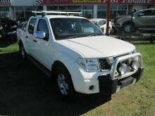 2009 Nissan Navara D40 ST-X White 5 Speed Automatic Utility Kippa-ring Redcliffe Area Preview