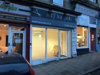 Shop to rent on Battlefield Road opposite Old Victoria Infirmary - Available Now