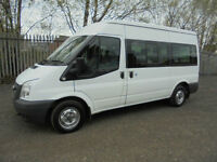 FORD TRANSIT 9 SEATER SHUTTLE BUS 38,000 MILES WITH F.S.H £11995+VAT