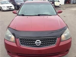 2006 NISSAN ALTIMA 2.5 S,PW,AC,LEATHER,SUNROOF,CERTIFIED/E-TEST
