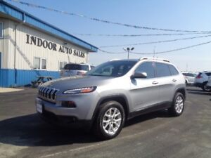 2015 Jeep Cherokee North 2.4L 4CYL 9SPD AUTO 4WD