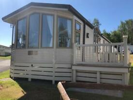 Pre-owned holiday home with decking in Devon. Free 2018 site fees