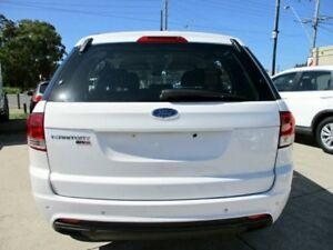 2013 Ford Territory SZ TX Seq Sport Shift AWD Winter White 6 Speed Sports Automatic Wagon