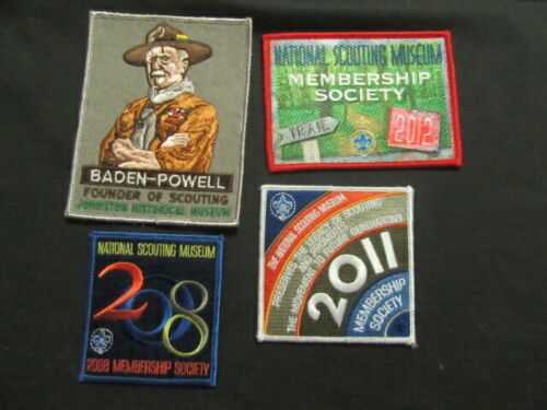 BSA National Museum Patch Lot, 8 Patches              c56