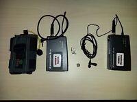 Sennheiser EW100 G1 transmitter / receiver/plus lavellier mic