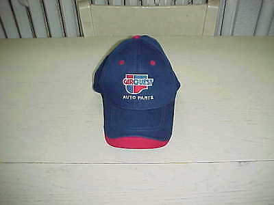 Carquest Auto Parts Cloth Hat Blue Red Baseball Stitched Cap Adjustable One Size