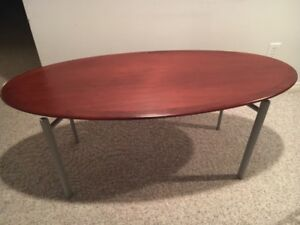 beautiful cherry wood top coffee table