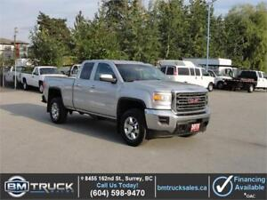 2015 GMC SIERRA 2500HD SLE DOUBLE CAB SHORT BOX 4X4