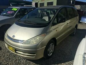 2002 Toyota Tarago ACR30R GLi Gold 4 Speed Automatic Wagon Jewells Lake Macquarie Area Preview