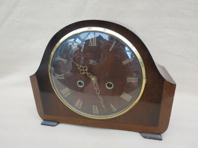 VINTAGE SMITHS ENFIELD LANGLEY STRIKING MANTEL CLOCK FOR TLC
