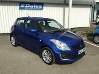 Suzuki Swift 1.2 S3 4x4 - 5 Door (boost blue met zum) 2014