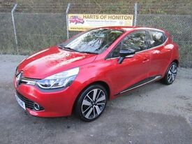 Renault Clio 0.9 Dynamique S MediaNav TCE 90 5DR Energy (flame red) 2015