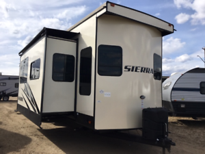 2019 SIERRA 399LOFT Destination/Park Model Loft Trailer