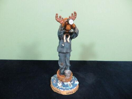 Boyds Bears Moose Troop Sir Francis Blackhoof w First Mate McMousen Land Ho 1E