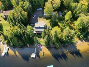WATERFRONT COTTAGE FOR SALE-90 MIN FROM OTTAWA