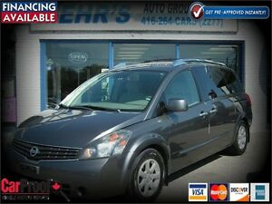 2008 Nissan Quest SL Pwr Sliding DVD Dealer Maintained One Owner