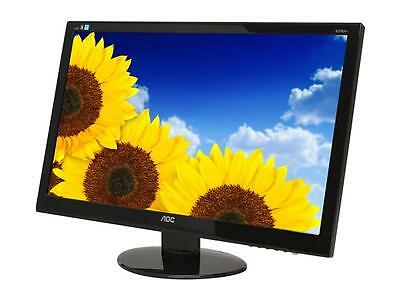 "شاشة ليد جديد AOC ENTERTAINING e2752Vh Glossy Black Bezel 27"" 2ms HDMI Widescreen LED Backligh"