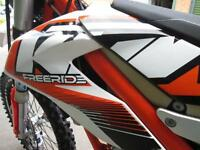 KTM 350 FREERIDE EXC 2013 ENDURO ROAD REGISTERED GREEN LANE @ RPM OFFROAD
