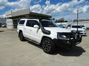 2017 Volkswagen Amarok 2H MY17 TDI550 4MOTION Perm Highline White 8 Speed Automatic Utility Nowra Nowra-Bomaderry Preview