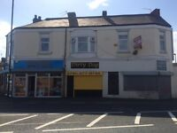 Two bedroom, unfurnished flat above shops, Mainsforth Terrace. Ideal location, close to seaside