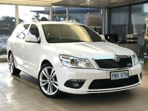 2011 Skoda Octavia 1Z MY11 RS DSG 125TDI White 6 Speed Sports Automatic Dual Clutch Wagon