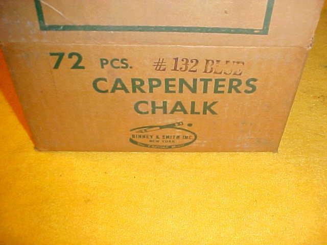 #132 BLUE CARPENTERS CHALK 72 PCS PER BOX