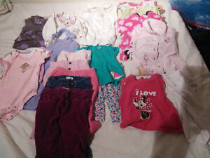 25 pieces good quality 0-12 month baby girl clothing