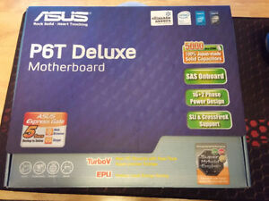 Asus P6T Deluxe + Xeon X5670 + 24GB DDR3