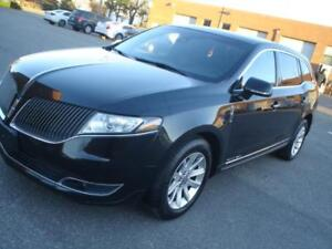 2015 Lincoln MKT,AWD,3.7 LIVERY PKG,BLK/BLK