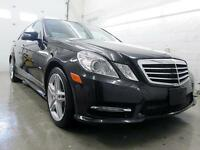2012 Mercedes E550 4MATIC NAVIGATION  AMG PKG. SPORT 402hp