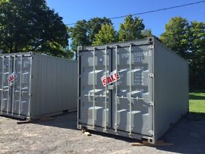 New 1 tripper storage containers 20 ft and 40 ft