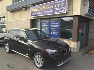 2012 BMW X1 XDRIVE TOIT PANO-TWINTURBO-VÉHICULE COMME NEUF!