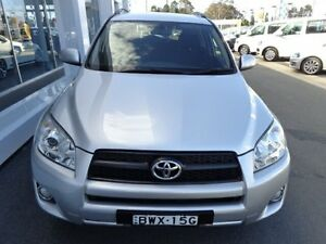 2011 Toyota RAV4 ACA38R Cruiser (2WD) Silver 4 Speed Automatic Wagon Port Macquarie Port Macquarie City Preview