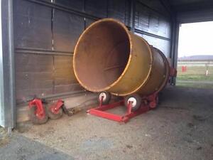 Teagle Tomahawk M404 Bale Shredder Corop Campaspe Area Preview
