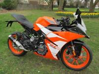 KTM 125 124.7cc RC 125 ABS (2017) Supersport 2017MY RC 125