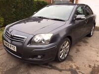 BEAUTIFUL TOYOTA AVENSIS 2,2 DIESEL NEXT MOT FEB 2018 !!! SAT NAV !!