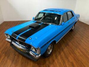 1970 Ford Falcon XY 500 Blue 4 Speed Manual Sedan